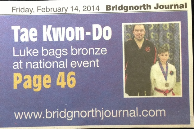 Bridgnorth Journal, February 2014