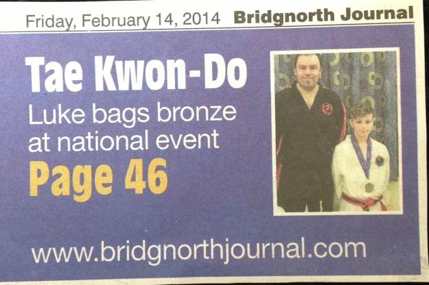 Bridgnorth Journal, February 2014