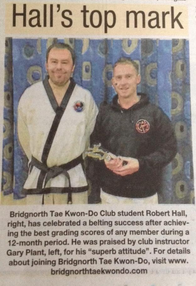 Bridgnorth Journal, March 21st 2014.