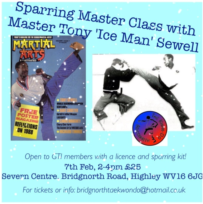 Sparring master class with Tony Sewell
