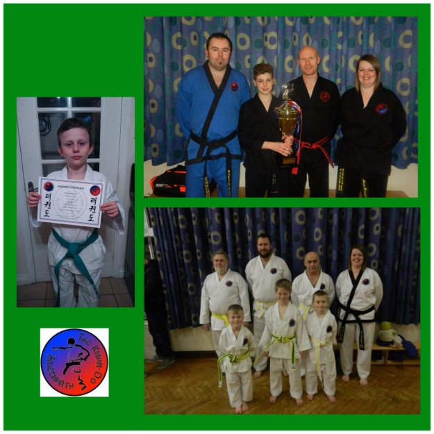 Grading and competitive success for Bridgnorth Tae Kwon-Do